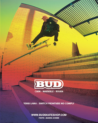 bud skateshop shop en ligne acheter skateboard skate shoes wear
