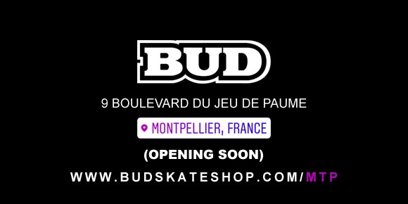 bud skateshop montpellier