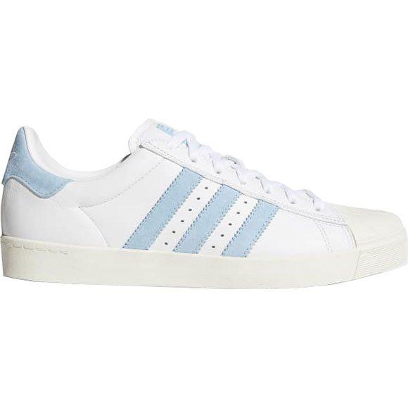 adidas shoes krooked superstar vulc (whitechalk white
