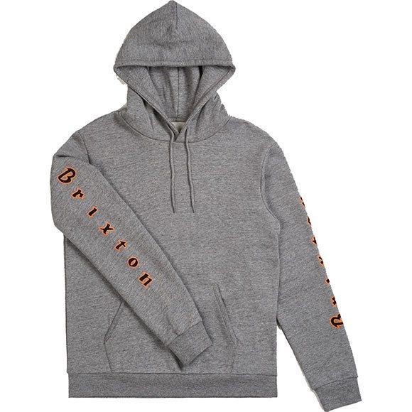 Sweatshirt Primo Hood GreyAchat Intlheather Skate Brixton L4Rj53A