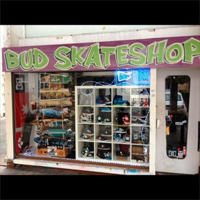 photos bud skateshop caen