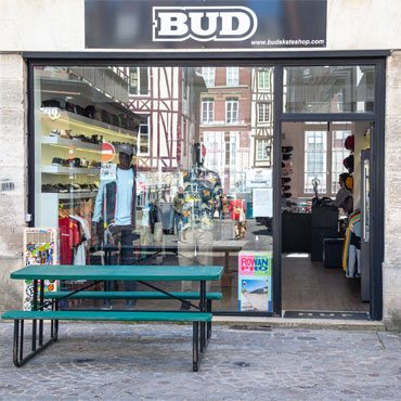 photos bud skateshop rouen