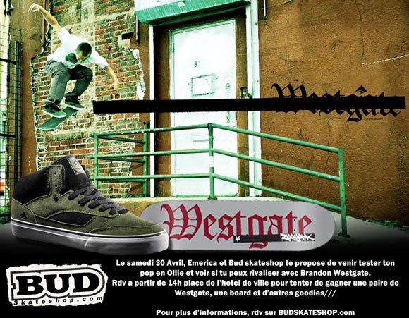 bud emerica Westgate Ollie contest samedi 30 avril 2011 Hotel De Ville Rouen