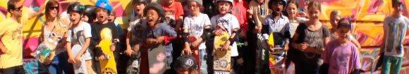 Vidéo BSM Kids Interclub Contest au Streetpark De La Friche à Marseille dimanche 18 mai 2014