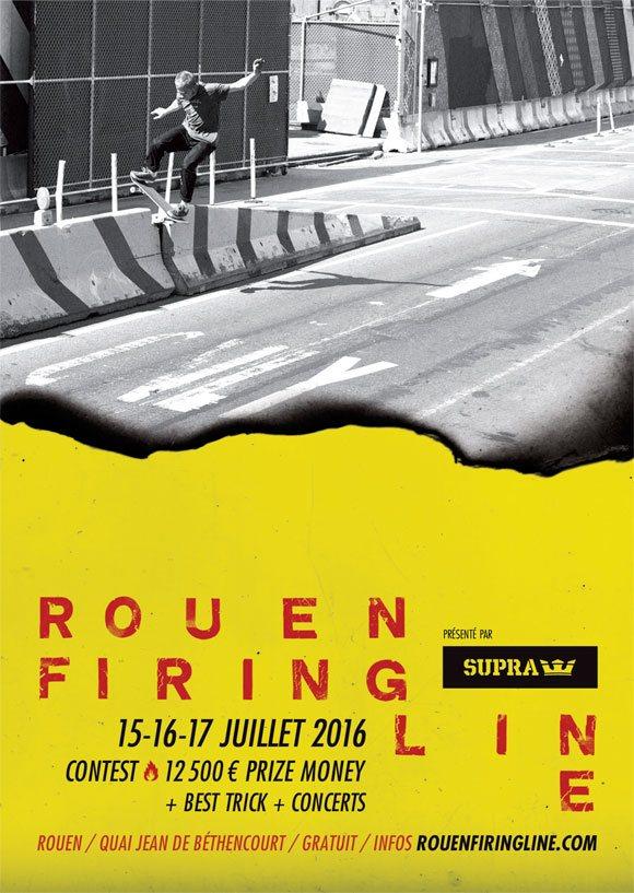 Rouen Firing Line international contest & concerts 15-16-17 juillet 2016 quai Jean De Béthencourt Rouen
