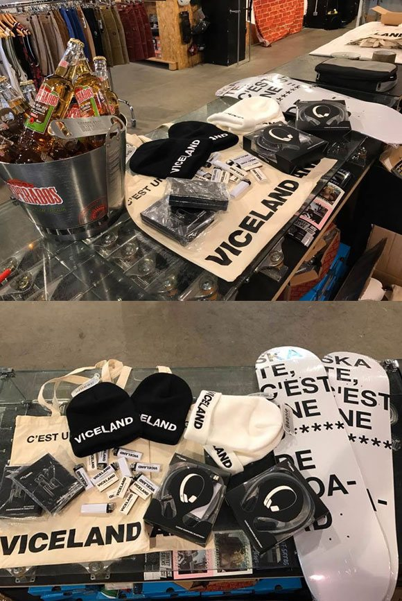 free beers goodies Viceland THRASHER tournée King Of The Road BUD SKATESHOP Marseille vendredi 10 mars 2017