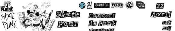 Bière De La Plaine Skate Punk contest concert La Friche Belle De Mai Marseille samedi 22 avril 2017