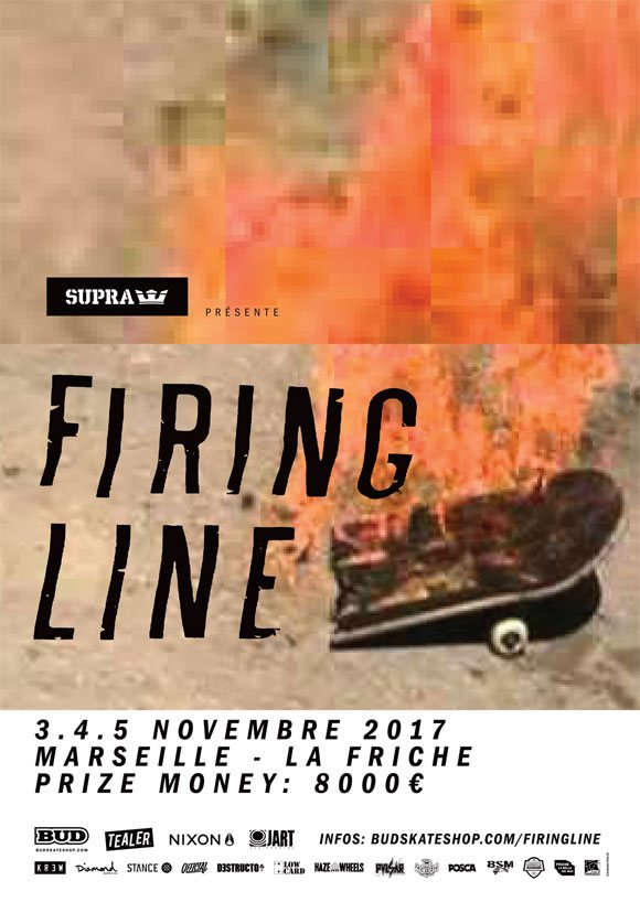 Firing Line international skateboard contest La Friche Marseille 3-4-5 novembre 2017