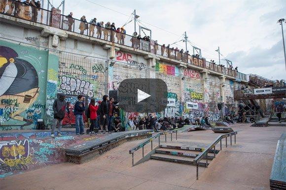Photos Firing Line international skateboard contest La Friche Marseille 3-4-5 novembre 2017
