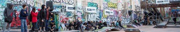 Vidéos photos récap Firing Line international skateboard contest La Friche Marseille 3-4-5 novembre 2017