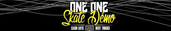 One-one Skate Démo cash lots best tricks Carcassonne dimanche 8 avril 2018