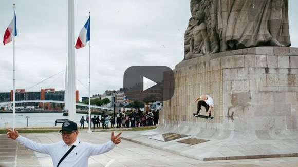 vidéo battle of normandy 2018 element skateboards