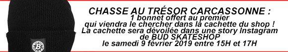 Chasse Au Trésor BUD SKATESHOP Carcassonne samedi 9 février 2019