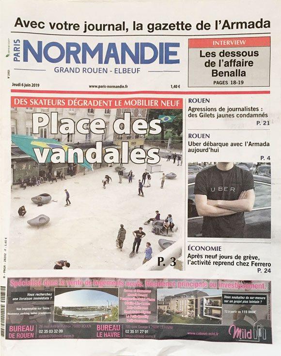 Article Paris Normandie Rouen