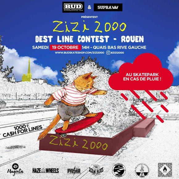 Zizi 2000 Best Line Contest Quais Bas Rive Gauche Rouen samedi 19 octobre 2019