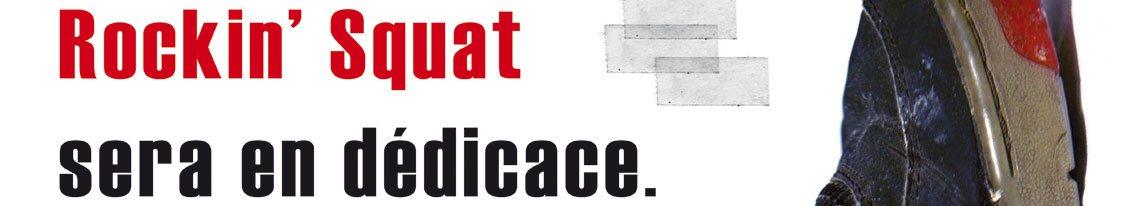 Rockin' Squat du groupe Assassin en dédicace de son livre Chronique d'une Formule Annoncée chez BUD SKATESHOP Rouen jeudi 12 décembre et chez BUD SKATESHOP Caen vendredi 13 décembre 2019