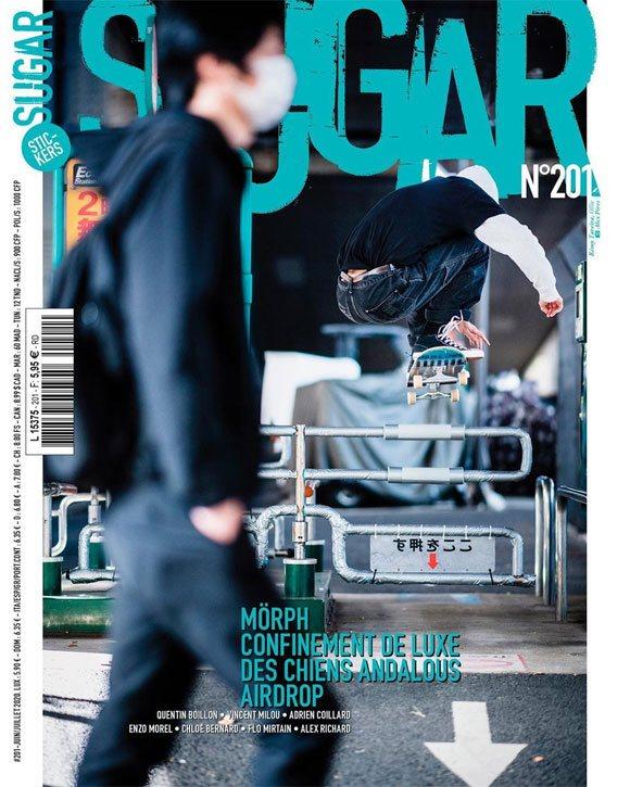 BUD SKATESHOP team paru article Des Chiens Andalous Séville Sugar #201 juin juillet 2020