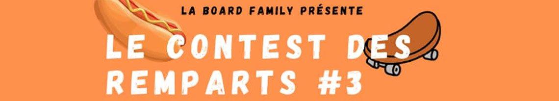 Board Family Contest Des Remparts 3 Skatepark De Carcassonne samedi 12 septembre 2020
