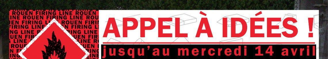 Rouen Firing Line appel à idées modules HDV place du Genéral De Gaulle Hôtel De Ville Rouen
