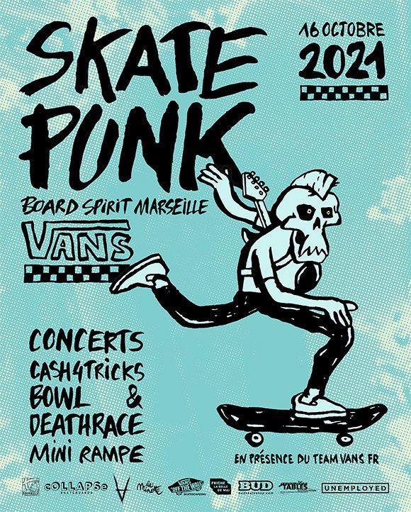 BSM Board Spirit Marseille Skate Punk samedi 16 octobre 2021