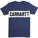 carhartt tee shirt shore (blue/white/black)