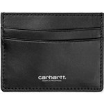 carhartt wallet leather card holder (black)