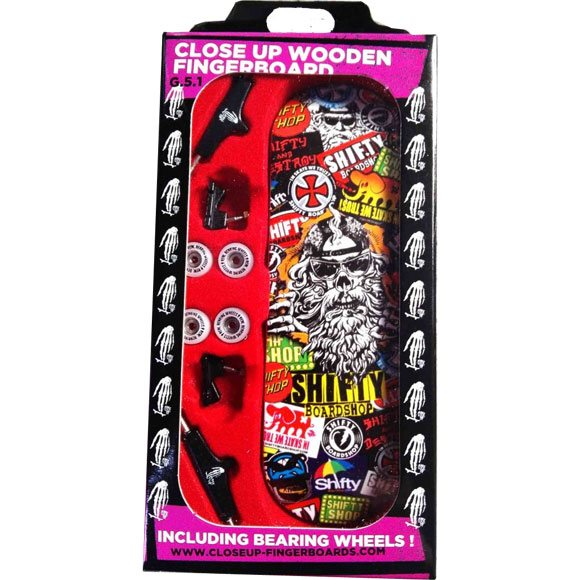 Close Up Fingerboard Shifty Gen 51 Stickers Achat Skate Shoes