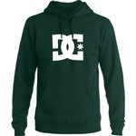 dc sweatshirt hood star (hunter green)