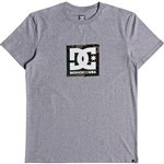 dc tee shirt camo boxing (grey heather)