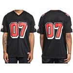 dc tee shirt knit football skate (black)