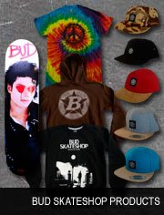 bud skateshop products