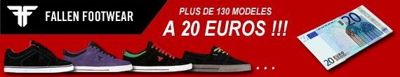 soldes fallen footwear skate shoes pas cher 20 euros