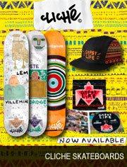clich� skateboards