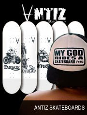 antiz skateboards