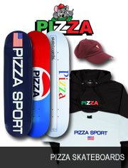 pizza skateboards