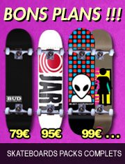 skateboards packs complets