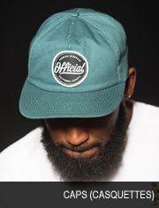 caps (casquettes)