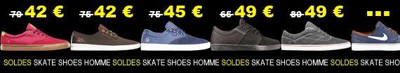 soldes skate shoes homme du moins cher au plus cher