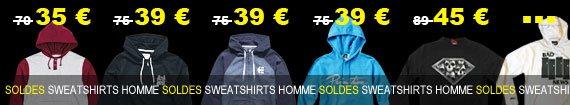 soldes sweatshirts homme du moins cher au plus cher