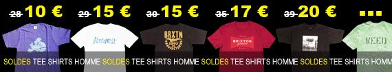 soldes tee shirts homme du moins cher au plus cher