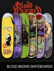 blood wizard skateboards