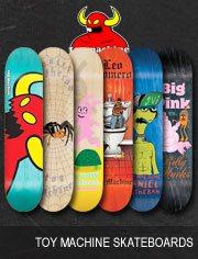 toy machine skateboards
