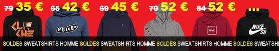 sweatshirts homme du moins au plus cher