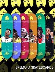 sk8mafia skateboards