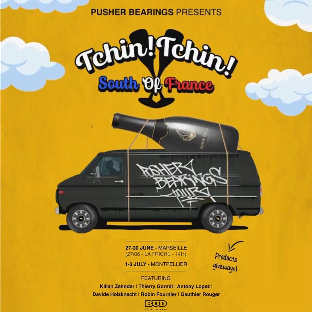 pusher bearings tour