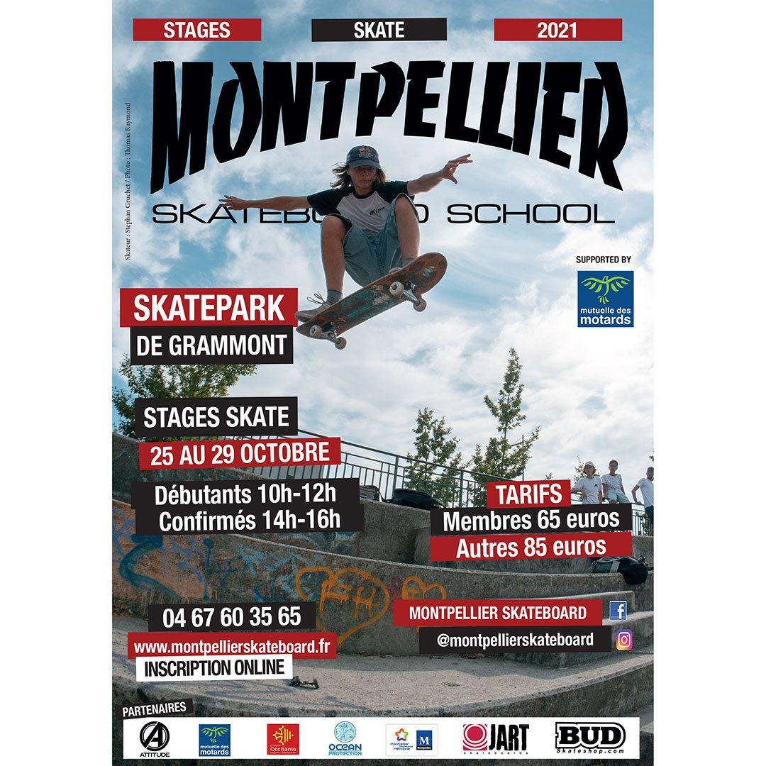 montpellier skateboard school