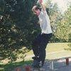 christophe cabret frontside smithgrind notre dame de gravenchon septembre 1997